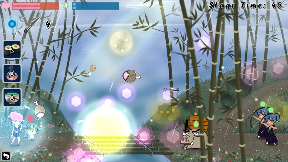 Ninja Girl, big action-RPG physics-shooter - Games Showcase