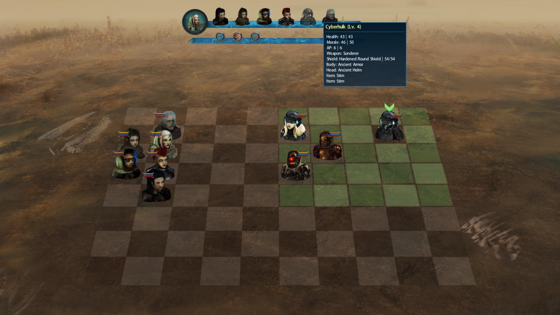 Chess in a post-apocalypse world | Halfgeek Devblog